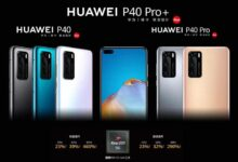 Photo of HUAWEI P40 series released in China