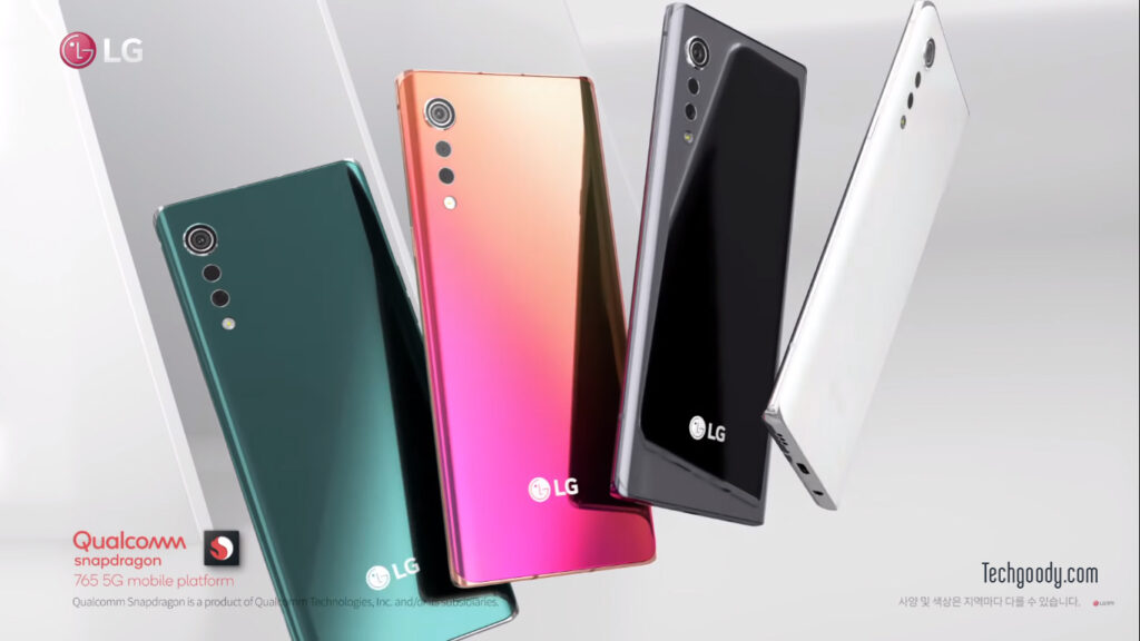LG valvet Launch video Techgoody
